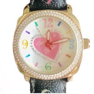Dooney & Bourke Heart Face Watch